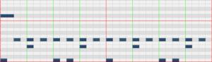 ドラム耳コピレベル2-1